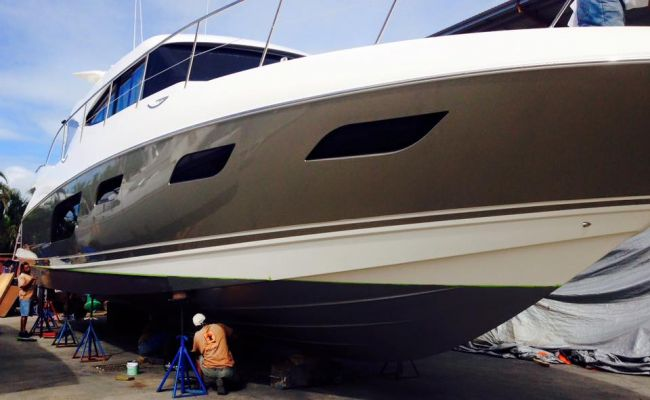 Airless or Roll on Antifouling