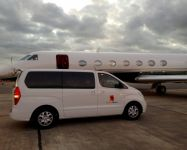 Private Jet Shore Support & Ground Transportation, International Airport