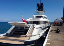 Bunkering, M/Y Dragon Fly