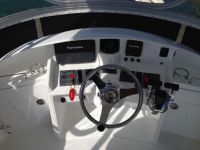 Navigation equipment install flybridge, Lucky Strike
